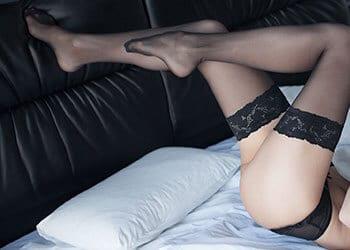 Sexy stocking legs